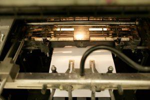 Die Druckerei bei Schmidt & Pähler